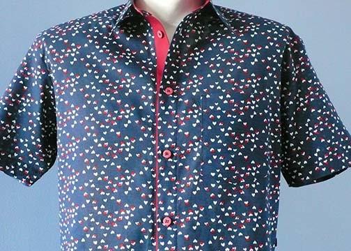 1-012 Chemise à manches courtes